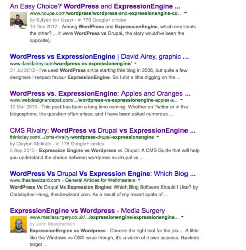 Improve your Google Authorship Click Through rate