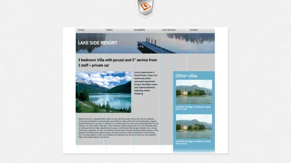 Grids Part 2: How to construct a perfectly aligned responsive grid system taken from Photoshop