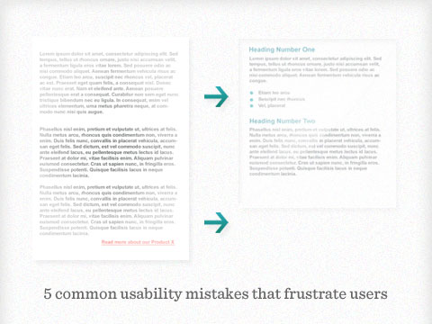5 common usability mistakes that frustrate users