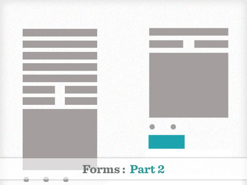 Forms part 2 : Increasing conversions with good use of forms